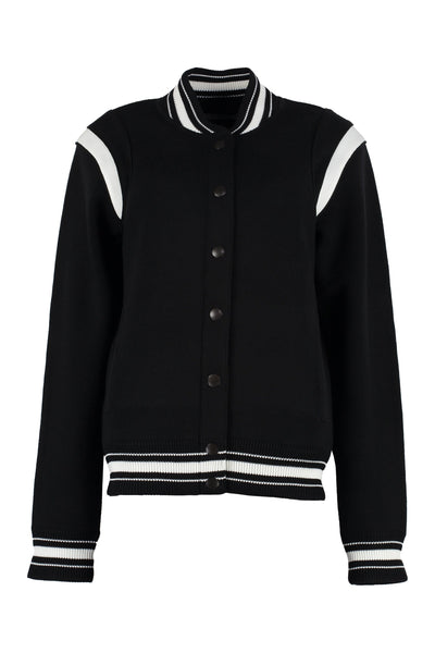 Givenchy Knitted Bomber Jacket