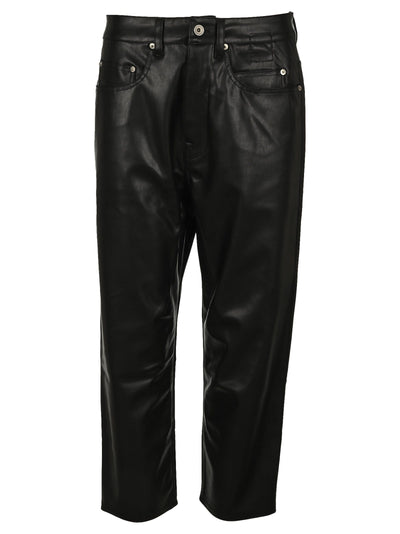 Dark Shadow Faux Leather Pants