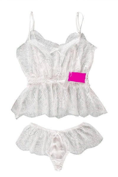Genuine Dantelle White Cami Set