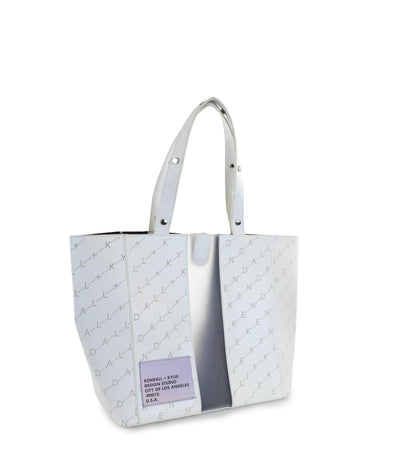 Kendall + Kylie White Tote