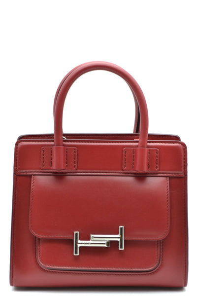 Tod's Red Mini Tote