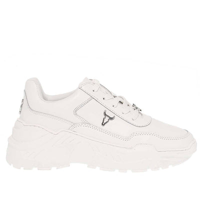 WINDSOR SMITH CARTE LE WHITE SNEAKER