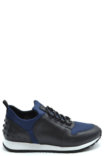 Tod's Black and Blue Sneakers