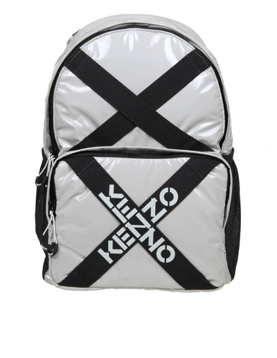 Kenzo Backpack In Gray Fabric