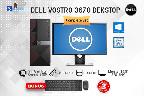 Komputer Desktop PC Dell Vostro 3670 core i5 - 9400