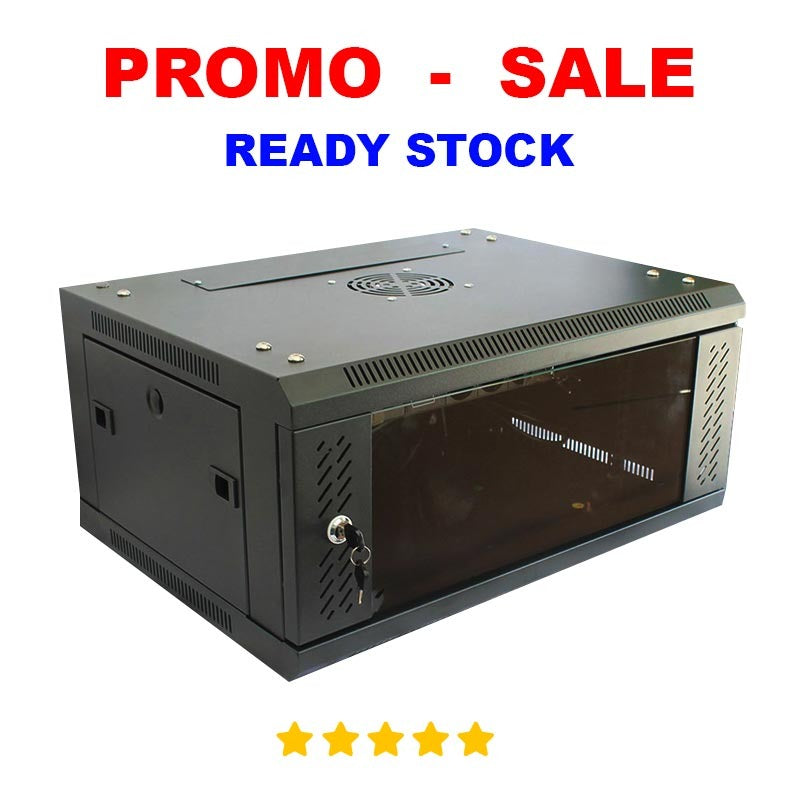 Rack Server 4U Wallmount 4U Single Glass Door
