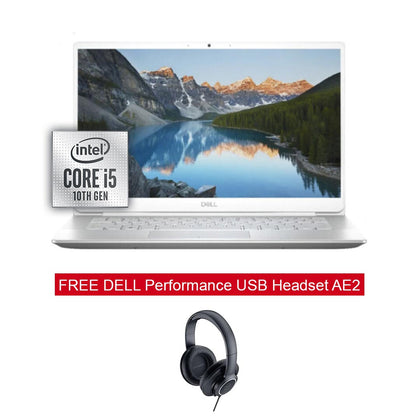 DELL Inspiron 14 5490 Core i5-10210U Silver FREE DELL Performance USB Headset AE2 Black