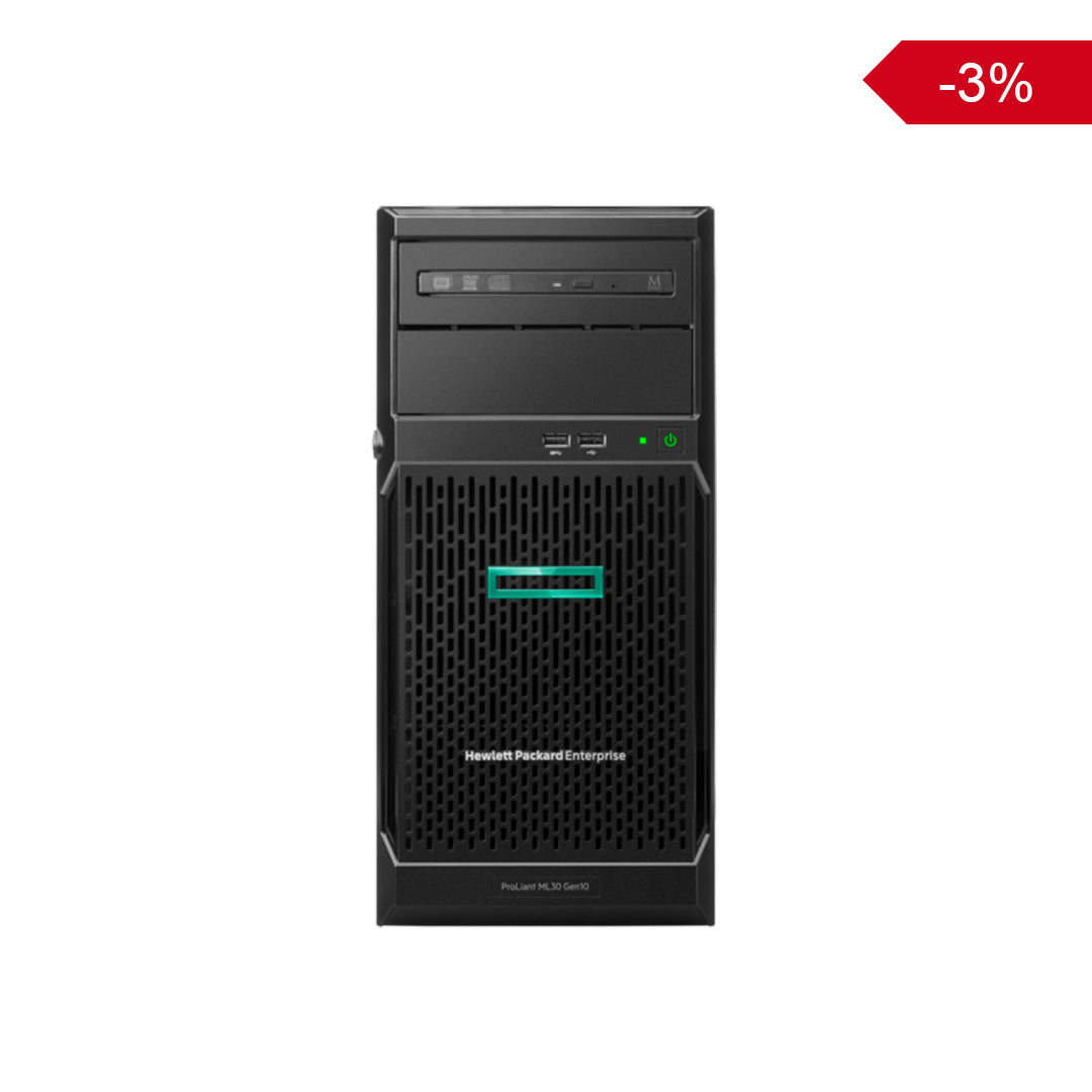 HPE ProLiant ML30G10 (Xeon E-2124, 8GB, 1TB)