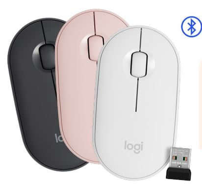 LOGITECH Pebble Wireless Bluetooth Mouse M350