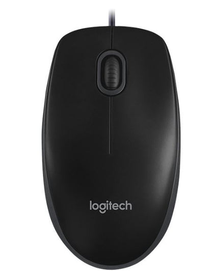 LOGITECH Wired Optical Mouse B100