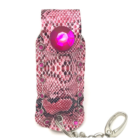 Diva Defense pink snakeskin pepperspray