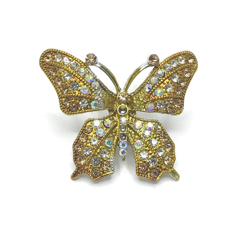 LARGE BUTTERFLY GOLD