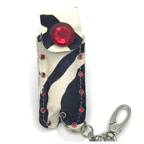 Diva Defense red zebra pepperspray