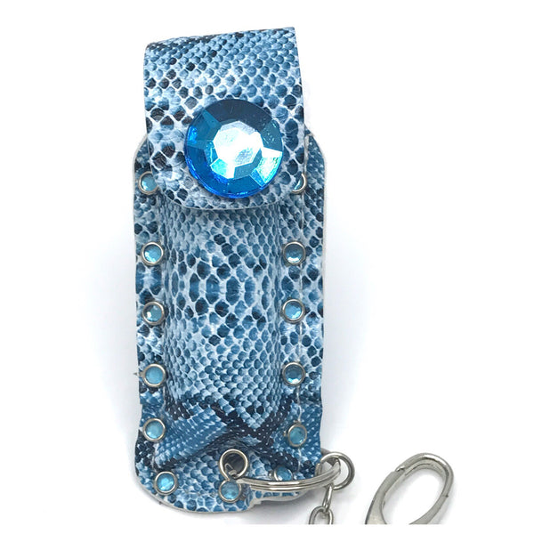 Diva Defense blue snakeskin pepperspray