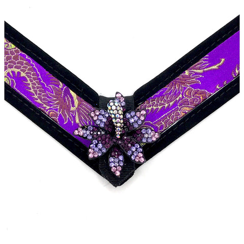 Purple dragon strap