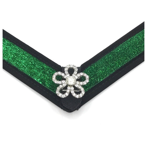 Green (Kelly) Glitter Strap