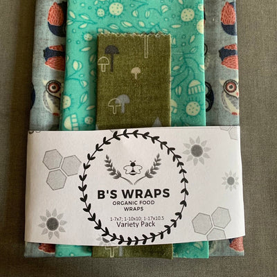 Wraps - Variety pack of 3