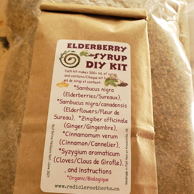 Elderberry Syrup DIY Kit
