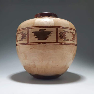 Native Themed Vase