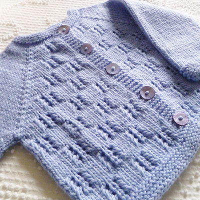 Lace Baby Cardigan