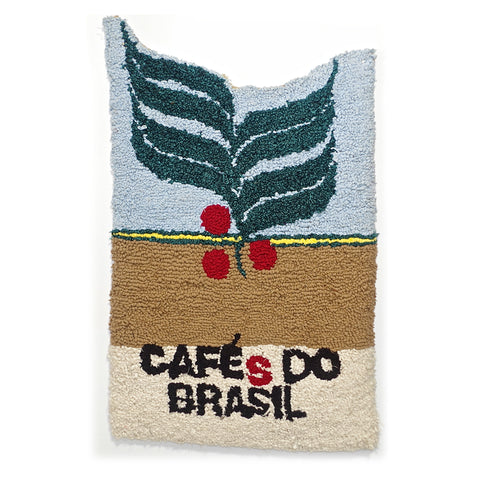 Café Do Brasil Rug Hooking