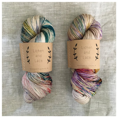 Pressed Flowers Yarn