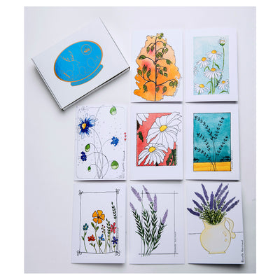 Spring Greeting Card - Box set #1