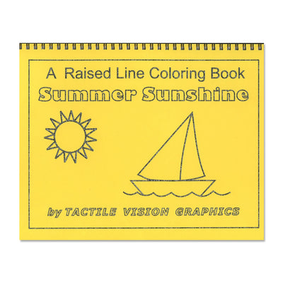 Summer Sunshine: A Raised Line Colouring Book