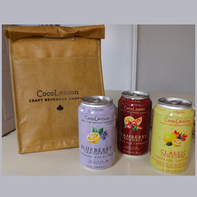 Soft Cooler with 3 Sampler Pack