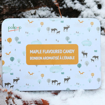 Assorted Maple Hard Candy Gift Tin