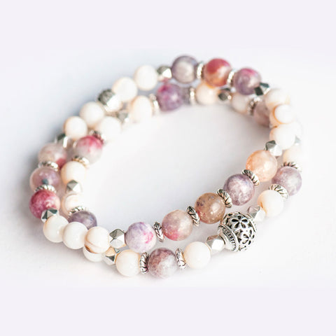 Fierce Self Love Gemstone Bracelet Set