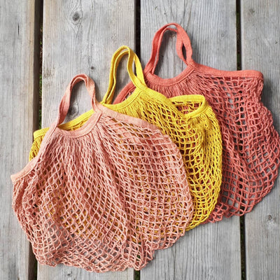 Naturally Dyed Produce Bags