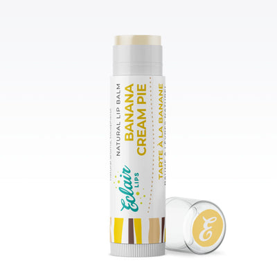 Banana Cream Pie Natural Lip Balm