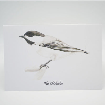 Chickadee Card - NB Provincial Bird