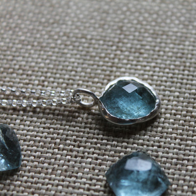March Birthstone Necklace