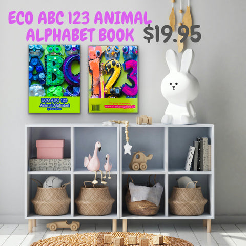 ECO ABC 123 Animal Alphabet Book
