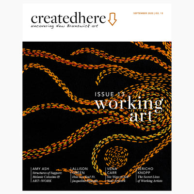 CreatedHere Issue 13 - Working Art
