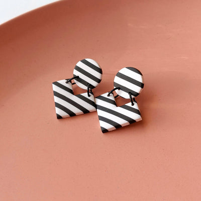 Stripey Geometric Dangles