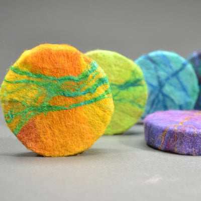 Goat's Milk Felted Soap