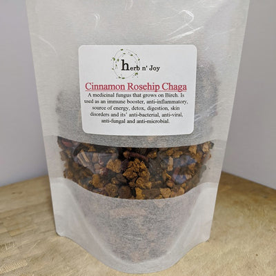 Thé Chaga Cannelle Rose Musquée