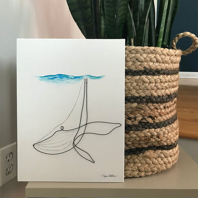 Whale Wire Art