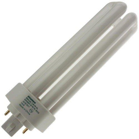 Sylvania 20890 CF42DT/E/IN/841/ECO 42-Watt 4100K 4-Pin Tri-Tube Compact Fluorescent Lamp