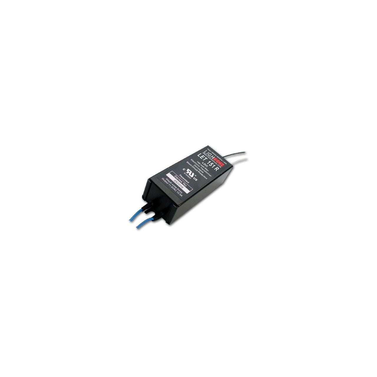 LET-151R - 150w dimmable transformer - 120v-12v