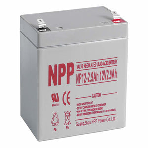 SLA Battery - 12v 2.9ah