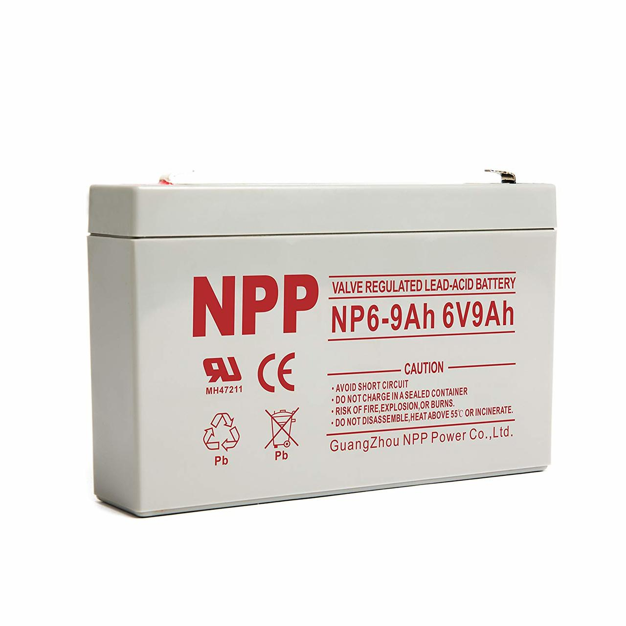SLA Battery - 6v 9ah