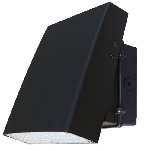LED Adjustable Full Cut Off Wallpack, Wattage Options from 12W through  120W, DLC Listed, cULus, 3000K, 4000K or 5000K