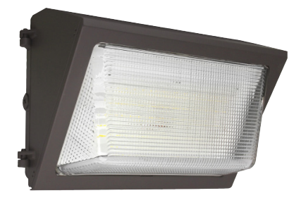 LED Traditional Wallpack 35-120 Watts, 4000K or 5000K, Optional Photocell, 120-277V, DLC Premium Listed, IP65, cULus