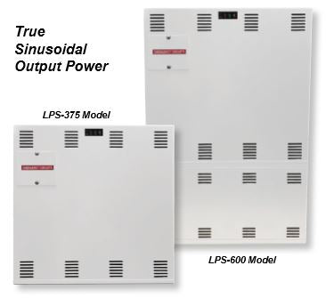 LPS Midsize-electrical inverter system Powers 375 up to 600 watts/VA of Incandescent, florescent, induction, or LED lighting loads