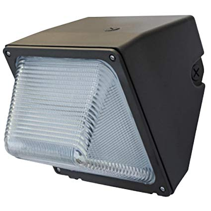 Eiko WMG-1C LED Glass Wallpack, 30W, 3,200 lumens, 5000K
