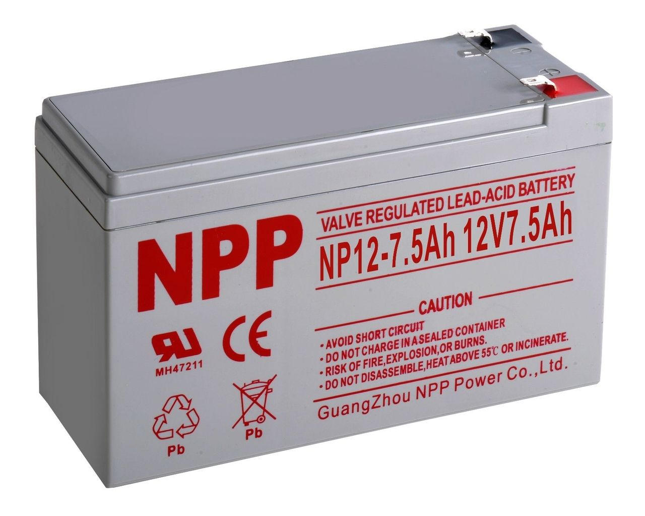 SLA Battery - 12v 7.5ah